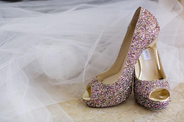 Diy Glitter Shoes The Dress Matters