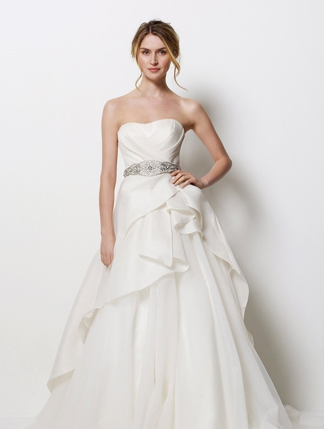 Watters Beverly Hills Bridal Dress