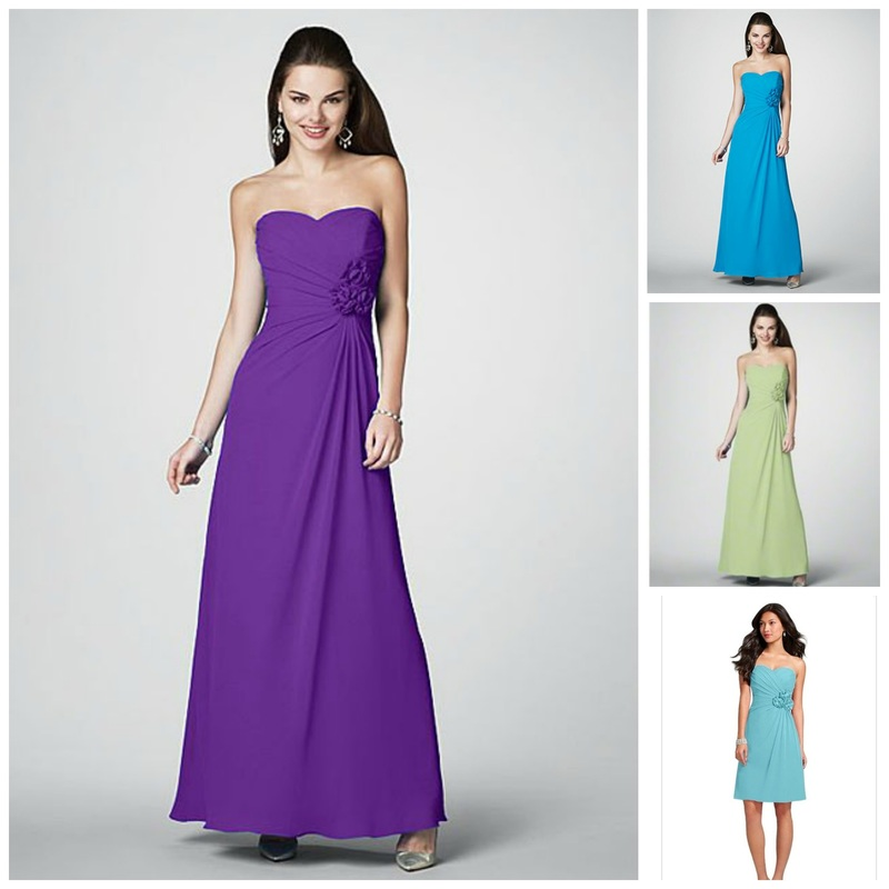 Alfred Angelo Bridesmaid Dress Style 7180