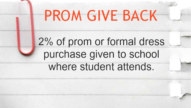Prom Give Back Campaign